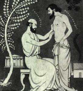 hippocrates examines